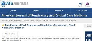 Aclaramiento del virus y resolución de los síntomas en pacientes infectados por Coronavirus