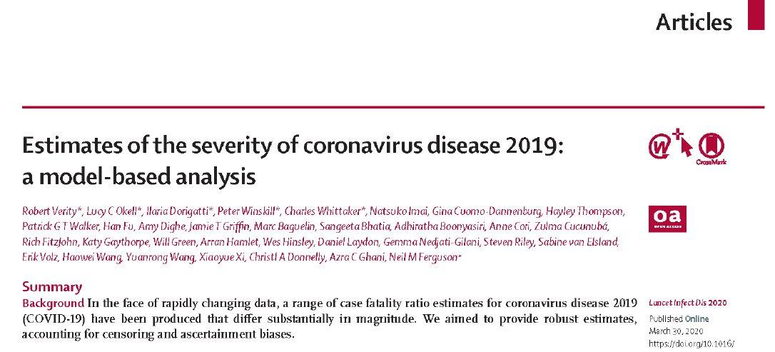 Estimación de la severidad de Covid 19