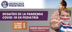 """E-LEARNING: """"DESAFÍOS DE LA PANDEMIA COVID-19 EN PEDIATRÍA"""""""